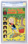 Silver Age (1956-1969):Humor, Richie Rich Dollars and Cents #8 File Copy (Harvey, 1965) CGC NM+ 9.6 Off-white to white pages....