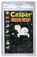 Bronze Age (1970-1979):Cartoon Character, Casper Spaceship #5 File Copy (Harvey, 1973) CGC NM 9.4 Off-whiteto white pages....