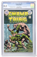 Bronze Age (1970-1979):Horror, Swamp Thing #10 (DC, 1974) CGC VF+ 8.5 Off-white to white pages....
