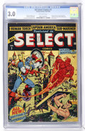Golden Age (1938-1955):Superhero, All Select Comics #1 (Timely, 1943) CGC GD/VG 3.0 Off-white pages....