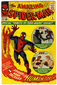 The Amazing Spider-Man #8 (Marvel, 1964) Condition: VG-