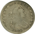 Early Half Dollars: , 1803 50C Large 3--Improperly Cleaned--NCS. XF Details. NGC Census:(37/114). PCGS Population (38/70). Mintage: 188,234. Num...