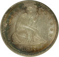 Seated Quarters: , 1877 25C MS61 NGC. NGC Census: (13/257). PCGS Population (10/265).Mintage: 10,911,710. Numismedia Wsl. Price for NGC/PCGS ...