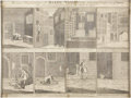 "Antiques:Posters & Prints, Engraved Print: ""An Exact Representation of Daniel Malden's twoSurprising Escapes out of Newgate,..."