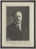 "Autographs:U.S. Presidents, William Howard Taft: Photograph Signed, ""Wm. H. Taft"",..."