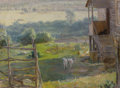 Fine Art - Painting, Russian:Contemporary (1950 to present), FYODOR PAVLOVICH RESHETNIKOV (Russian, 1906-1988). Morning,1965. Oil on canvas. 23 x 32 inches (58.4 x 81.3 cm). Signed...