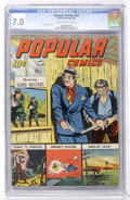Golden Age (1938-1955):Adventure, Popular Comics #99 (Dell, 1944) CGC FN/VF 7.0 Cream to off-white pages....