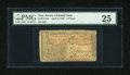 Colonial Notes:New Jersey, New Jersey April 8, 1762 £3 PMG Very Fine 25....