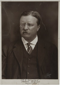 Theodore Roosevelt: A 1916-Dated Signed Photo