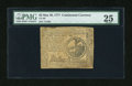 Colonial Notes:Continental Congress Issues, Continental Currency May 20, 1777 $2 PMG Very Fine 25....