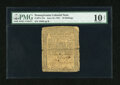 Colonial Notes:Pennsylvania, Pennsylvania June 18, 1764 10s PMG Very Good 10 Net....