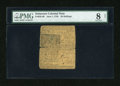 Colonial Notes:Delaware, Delaware June 1, 1759 20s PMG Very Good 8 Net....