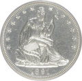 Proof Seated Half Dollars: , 1891 50C PR63 PCGS. PCGS Population (52/79). NGC Census: (34/97).Mintage: 600. Numismedia Wsl. Price for NGC/PCGS coin in ...