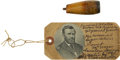 Political:Presidential Relics, Ulysses S. Grant: His Purported Well-Smoked Personal Cigar Holder....