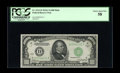 Small Size:Federal Reserve Notes, Fr. 2212-D $1000 1934A Mule Federal Reserve Note. PCGS Choice About New 58.. Some serial number embossing is visible on this...