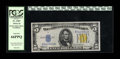 Small Size:World War II Emergency Notes, Fr. 2307 $5 1934A North Africa Silver Certificate. PCGS Gem New 66PPQ.. Wide margins and natural surfaces are merits of this...
