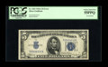 Error Notes:Inverted Reverses, Fr. 1651 $5 1934A Inverted Reverse Silver Certificate. PCGS ChoiceAbout New 55PPQ. This is a very rare note in this grade. ...