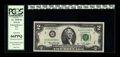 Error Notes:Mismatched Prefix Letters, Fr. 1935-B $2 1976 Federal Reserve Note. PCGS Gem New 66PPQ.. Thisis a wonderful example of this ever popular H/B prefix er...