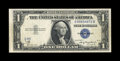 Error Notes:Obstruction Errors, Fr. 1608 $1 1935A Silver Certificate. Extremely Fine.. Anobstruction caused the final seven characters of the lower serial...