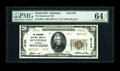 Huntsville, AL - $20 1929 Ty. 2 The Henderson NB Ch. # 8765 A lovely example with evident original embossing. PMG has g...
