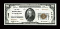 El Dorado, AR - $20 1929 Ty. 2 The First NB Ch. # 7046 A beautifully centered and crackling fresh example bearing low s...