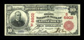 Little Rock, AR - $10 1902 Red Seal Fr. 613 The State NB Ch. # (S)6902 Red Seals are among the very rarest types from A...