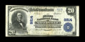 National Bank Notes:Kentucky, Adairville, KY - $20 1902 Plain Back Fr. 652 The First NB Ch. #8814. A very scarce bank in large size, with the Kelly c...