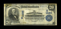 National Bank Notes:Kentucky, Lancaster, KY - $20 1902 Plain Back Fr. 650 The NB Ch. # (S)1493.This Fine-Very Fine $20 Plain Back comes from a co...
