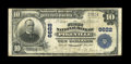 National Bank Notes:Kentucky, Pikeville, KY - $10 1902 Plain Back Fr. 624 The First NB Ch. #6622. The paper is perfectly original and the signatures ...