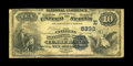 National Bank Notes:Maryland, Cumberland, MD - $10 1882 Date Back Fr. 545 The Citizens NB Ch. #(E)5332. A just plain rare bank which issued Second Ch...
