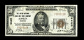 National Bank Notes:Missouri, Joplin, MO - $50 1929 Ty. 1 The Joplin NB & TC Ch. # 4425. Anattractive $50 with a mere three folds. Extremely Fine....