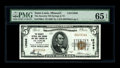 National Bank Notes:Missouri, Saint Louis, MO - $5 1929 Ty. 1 The Security NB Savings & TCCh. # 12066. A perfectly printed and adequately margined is...
