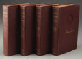 Books:Non-fiction, Ida M. Tarbell: The Life of Abraham Lincoln Four-Volume Set.(New York: Lincoln History Society, 1924), Sangamon Edi...