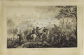 Military & Patriotic:Civil War, William Momberger Original Wash Drawing of the Battle of Pittsburg Landing (Shiloh) Signed by the Artist. This marvelous pen... (Total: 2 )