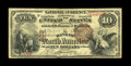 National Bank Notes:Pennsylvania, Philadelphia, PA - $10 1882 Brown Back Fr. 480 The Bank of NorthAmerica Ch. # 602. A second note from this sought after...