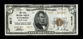 National Bank Notes:Pennsylvania, Wyoming, PA - $5 1929 Ty. 2 The First NB Ch. # 8517. This is awonderful example of a misplaced state note which is new ...