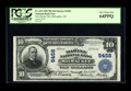 National Bank Notes:Wisconsin, Milwaukee, WI - $10 1902 Plain Back Fr. 633 The Marine NB Ch. # 5458. While not from an especially challenging bank to l...
