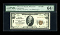 National Bank Notes:Wisconsin, Wisconsin Rapids, WI - $10 1929 Ty. 1 The First NB Ch. # 1998. This second title example looks as original as the day it...