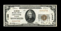 National Bank Notes:Wyoming, Cheyenne, WY - $20 1929 Ty. 1 The American NB Ch. # 11380. Cheyenenotes are not only wanted by Wyoming collectors, but ...