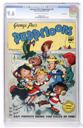 Golden Age (1938-1955):Cartoon Character, George Pal's Puppetoons #9 Crowley Copy (Fawcett, 1947) CGC NM+ 9.6Off-white to white pages....