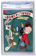 Golden Age (1938-1955):Cartoon Character, Looney Tunes and Merrie Melodies Comics #154 File Copy (Dell, 1954)CGC NM- 9.2 Off-white to white pages....