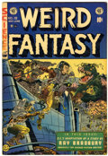Golden Age (1938-1955):Science Fiction, Weird Fantasy #19 (EC, 1953) Condition: FN+....