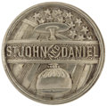 Political:Tokens & Medals, St. John & Daniel: Campaign Pinback from the 1884 Prohibition Candidates. Campaign issued items for this pair of Prohibition...