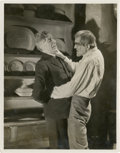 "Movie Posters:Horror, Boris Karloff in ""The Ghoul"" (Gaumont, 1933). Stills (2) (8"" X10"").... (Total: 2 Items)"