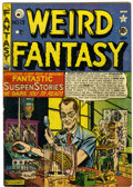 Golden Age (1938-1955):Science Fiction, Weird Fantasy #13 (#1) Canadian edition (EC/Superior, 1950)Condition: VG/FN....