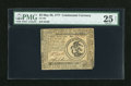 Colonial Notes:Continental Congress Issues, Continental Currency May 20, 1777 $3 PMG Very Fine 25 Net....