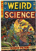 Golden Age (1938-1955):Science Fiction, Weird Science #9 Canadian edition (EC/Superior, 1951) Condition:VF-....