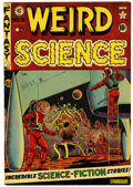 Golden Age (1938-1955):Science Fiction, Weird Science #8 Canadian edition (EC/Superior, 1951) Condition:VF-....