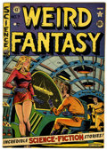 Golden Age (1938-1955):Horror, Weird Fantasy #7 Canadian edition (EC/Superior, 1951) Condition:VF....