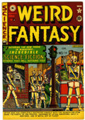 Golden Age (1938-1955):Science Fiction, Weird Fantasy #6 Canadian edition (EC/Superior, 1951) Condition:VF....